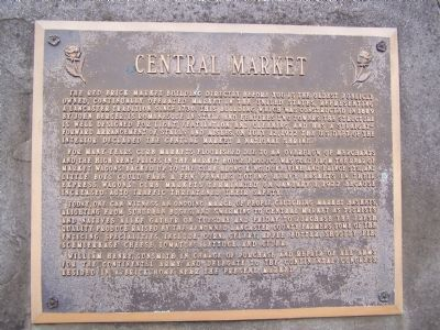 Central Market Marker image. Click for full size.