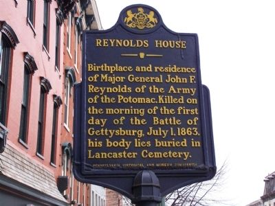Reynolds House Marker image. Click for full size.