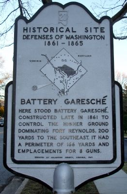 Battery Garesche Marker image. Click for full size.