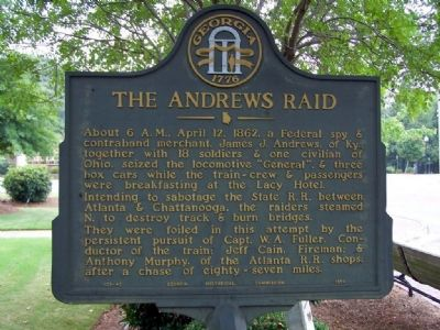 The Andrews Raid Marker image. Click for full size.
