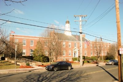 Sayreville, New Jersey Municipal Building image. Click for full size.