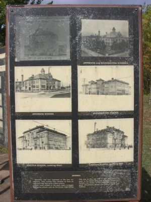Schools Marker image. Click for full size.