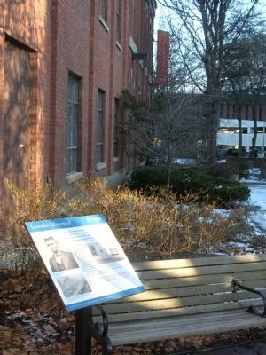 Lincoln Mourned Commemorative Marker in Quackenbush Square image. Click for full size.