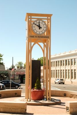 Somerset County 9-11 Memorial and Clock Tower image. Click for full size.