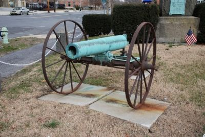 One of Two Cannons in the Monument Park image. Click for full size.