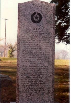 Texas Monument image. Click for full size.