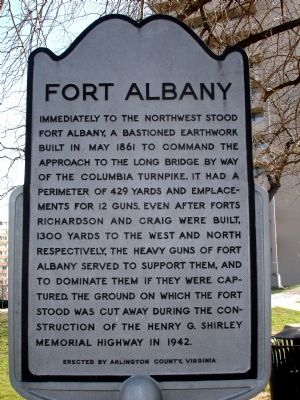 Fort Albany Marker image. Click for full size.