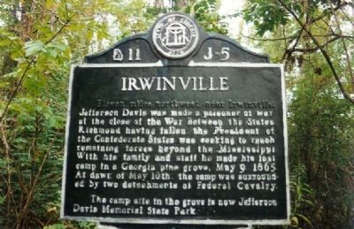 Here at SR 135 / 32 Location ...has moved to Jefferson Davis Memorial Park and Museum image. Click for full size.