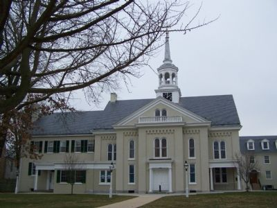 Lititz Moravian Church image. Click for full size.