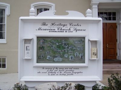 The Heritage Center Marker image. Click for full size.