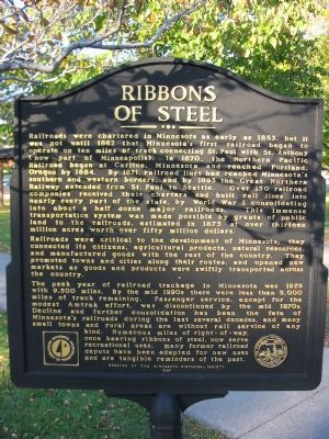 Ribbons of Steel Marker image. Click for full size.