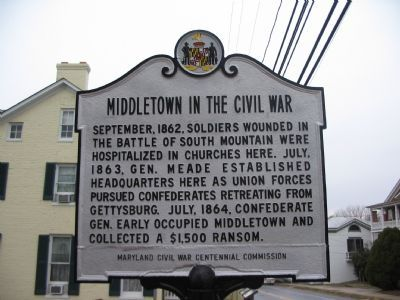 Close Up of the Marker today image. Click for full size.