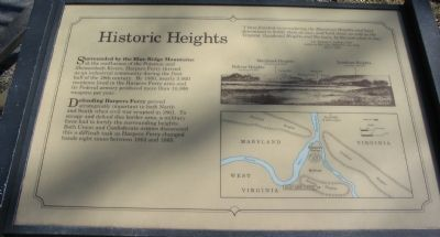 Historic Heights Marker image. Click for full size.
