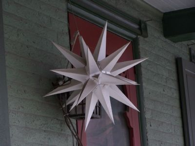 The Moravian Star image. Click for full size.