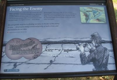 Facing the Enemy Marker image. Click for full size.