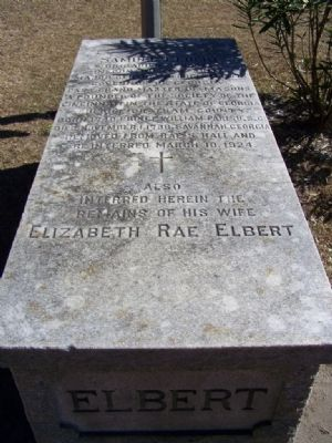 Grave Site for Gen. Ebert and wife re-located to Colonial Park Cemetery image. Click for full size.