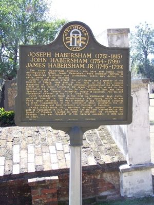 The Habershams Marker image. Click for full size.
