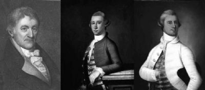 Joseph , John, and James (Jr) Habersham image. Click for full size.