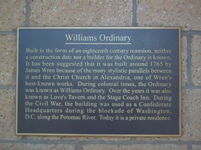 Williams Ordinary Marker image. Click for full size.