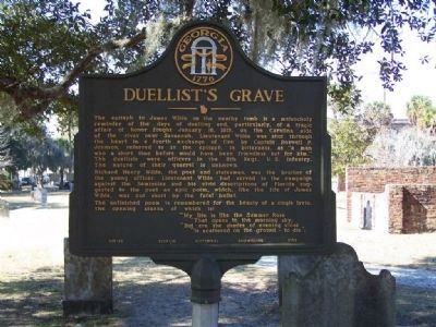 Duellist's Grave Marker image. Click for full size.