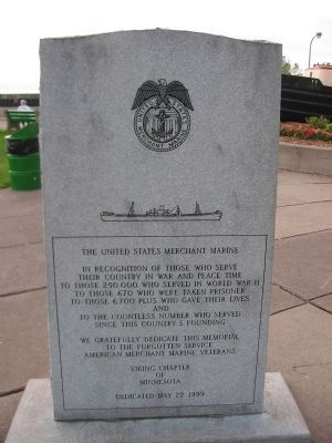 United States Merchant Marine Marker image. Click for full size.