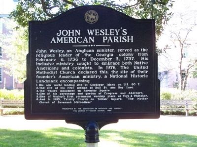 John Wesley's American Parish image. Click for full size.