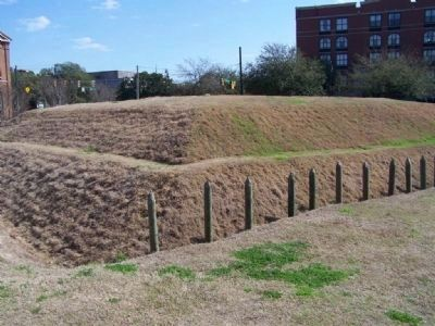 Battlefield Park 's Recreated Revolutionary Fort image. Click for full size.
