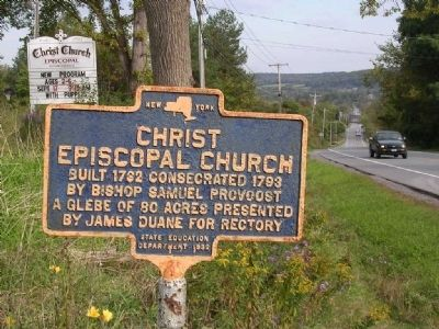Christ Episcopal Church along Route 20 in Duanesburg, NY image. Click for full size.