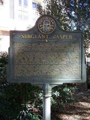 Sergeant Jasper Marker image, Touch for more information