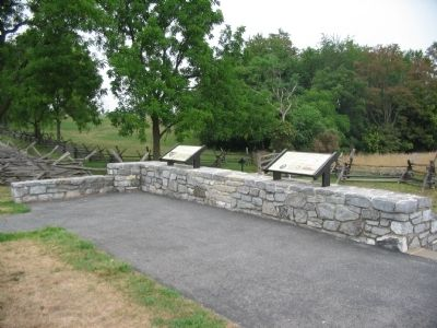 Sunken Road Overlook image. Click for full size.