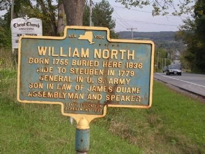 William North Marker image. Click for full size.