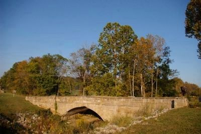 Peter's Creek Bridge as it is today image. Click for full size.