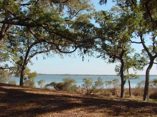 View of the Cape Fear River From Where the Town Stood image. Click for full size.