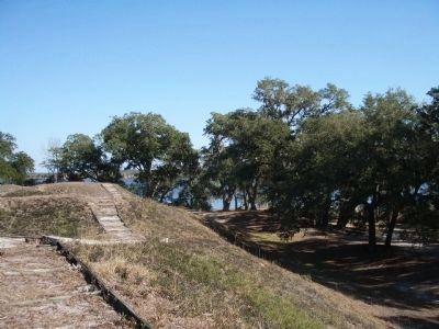 Fort Anderson Earthworks (Civil War) image. Click for full size.