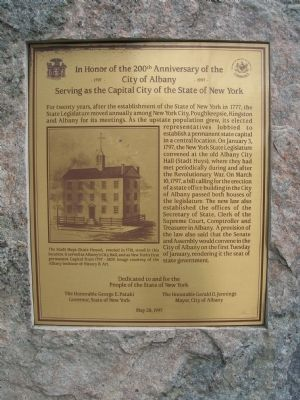 Albany's Bicentennial as New York's State Capitol image. Click for full size.