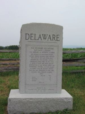 2nd Delaware Monument image. Click for full size.