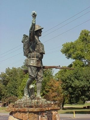 """Spirit of the American Doughboy"" Marker image, Touch for more information"