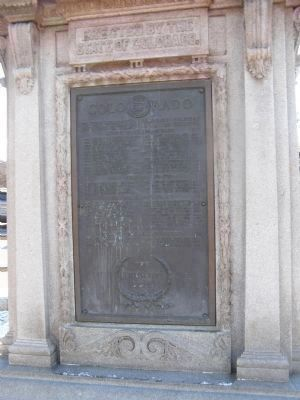 Monument's North side image. Click for full size.
