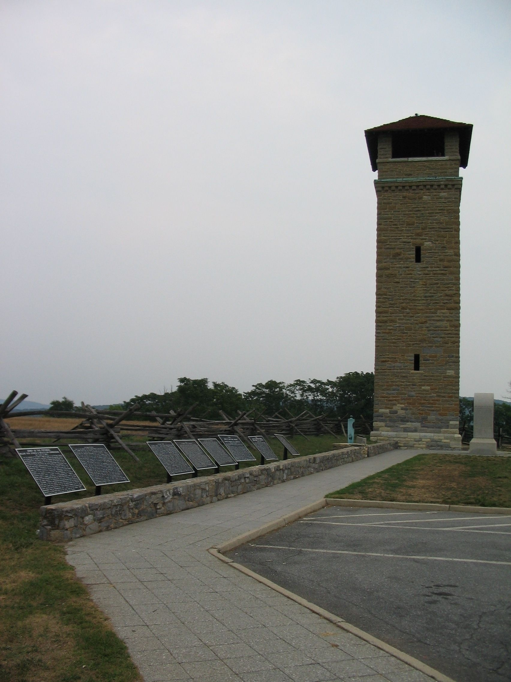 Tablet Cluster next to the Observation Tower