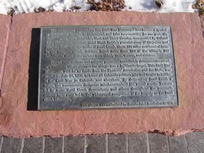Disclaimer about the Colorado Soldier's Monument image. Click for full size.