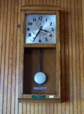 One time Southern RR Master Clock image. Click for full size.