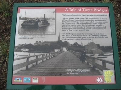 A Tale of Three Bridges Marker image. Click for full size.