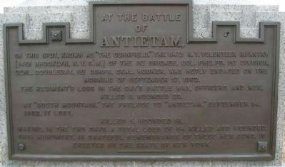 84th New York (14th Brooklyn) Volunteer Infantry Monument image. Click for full size.