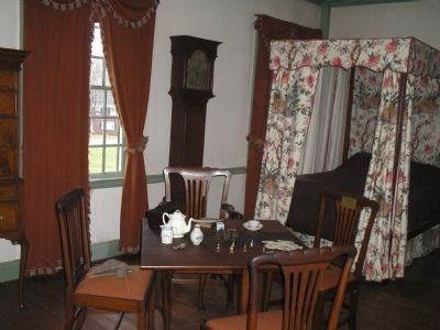 George Washington slept here! image. Click for full size.