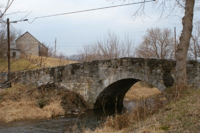 Claggett's Millrace Bridge image. Click for full size.