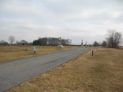 Half-way Point on the Cornfield Avenue image. Click for full size.