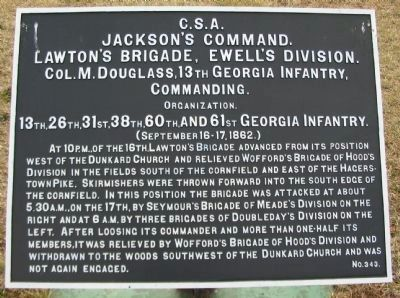 Jackson's Command Marker image. Click for full size.