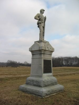 137th Pennsylvania Volunteer Infantry Marker image. Click for full size.