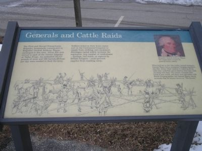 Generals and Cattle Raids Marker image. Click for full size.