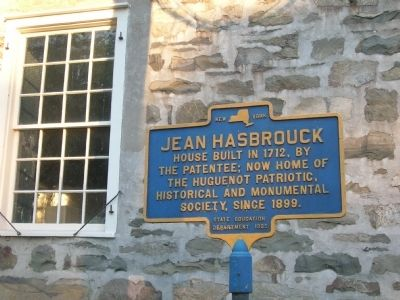 Jean Hasbrouck House image. Click for full size.